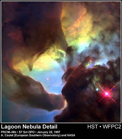 Lagoon-Nebula-Hubble