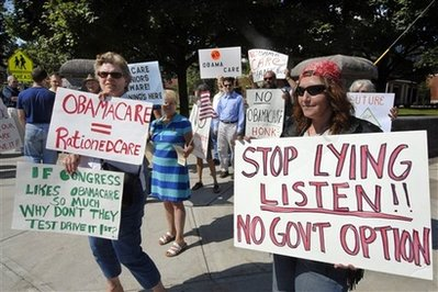 Health Overhaul Protest